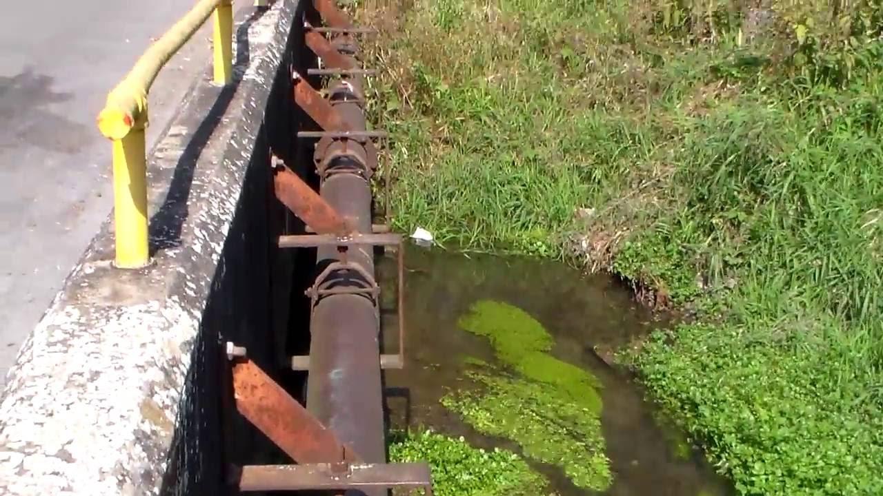 12 Inch Cast Iron Water Main Bridge Crossing Vintage