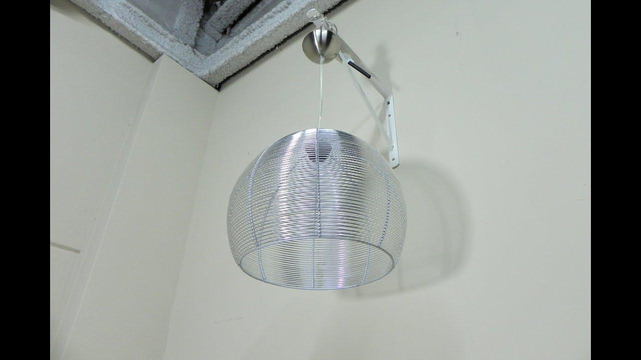 Descatalogado lampara de techo de metal con rejilla - Lamparas contemporaneas ...