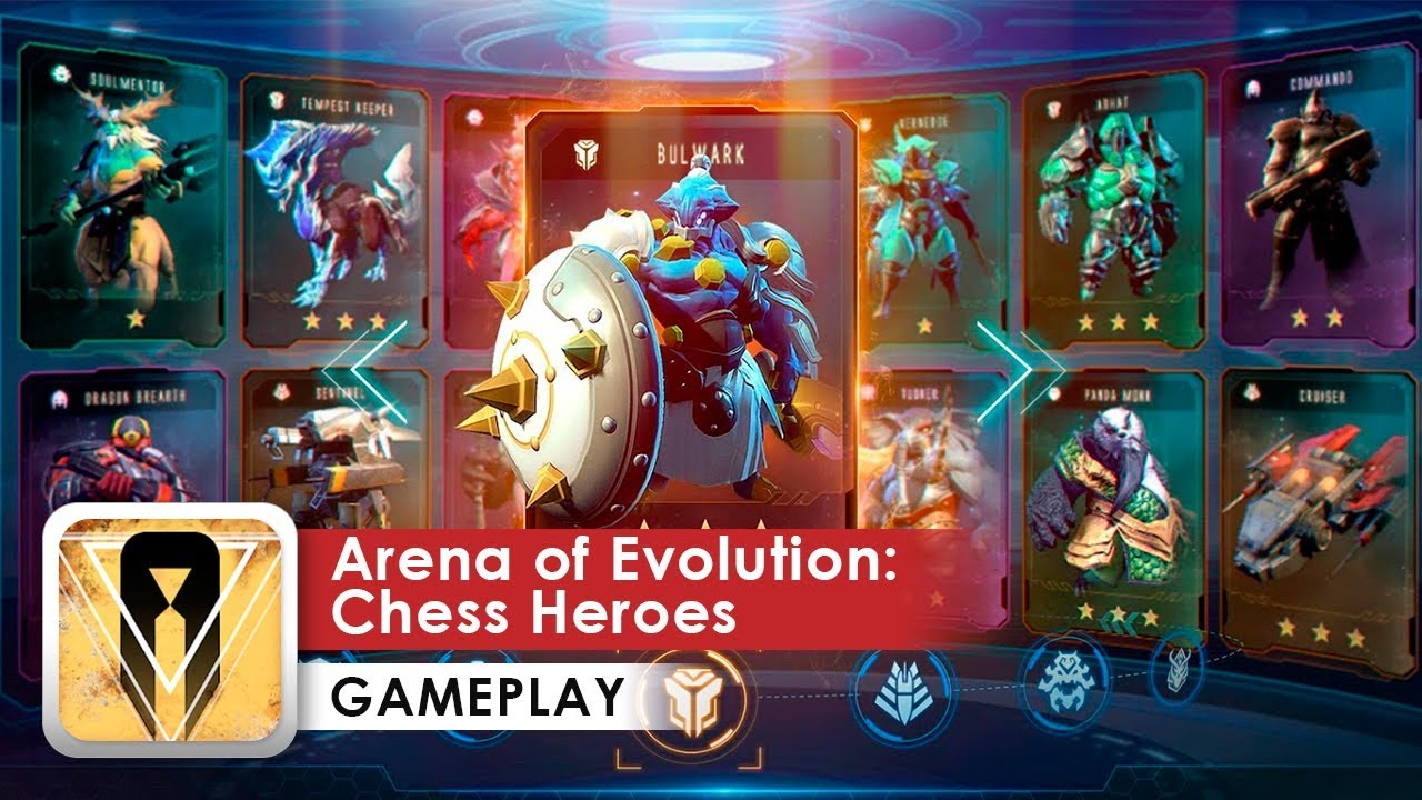 Arena of Evolution: Chess Heroes Gameplay HD (Android)