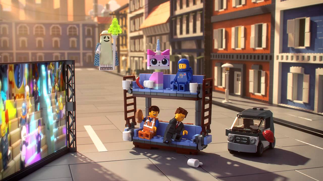 New Double Decker Couch The Lego Movie 70818 Product Animation