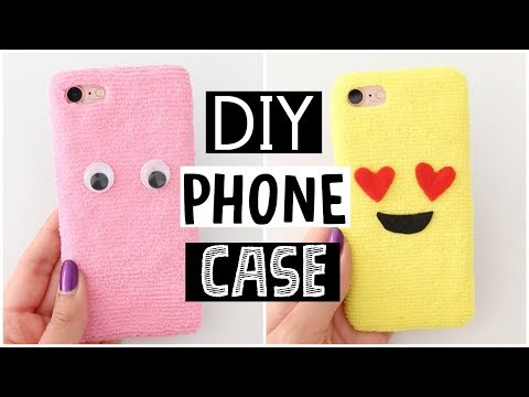 DIY AMAZING FLUFFY PHONE CASES - Cutest Phone Case Ever!