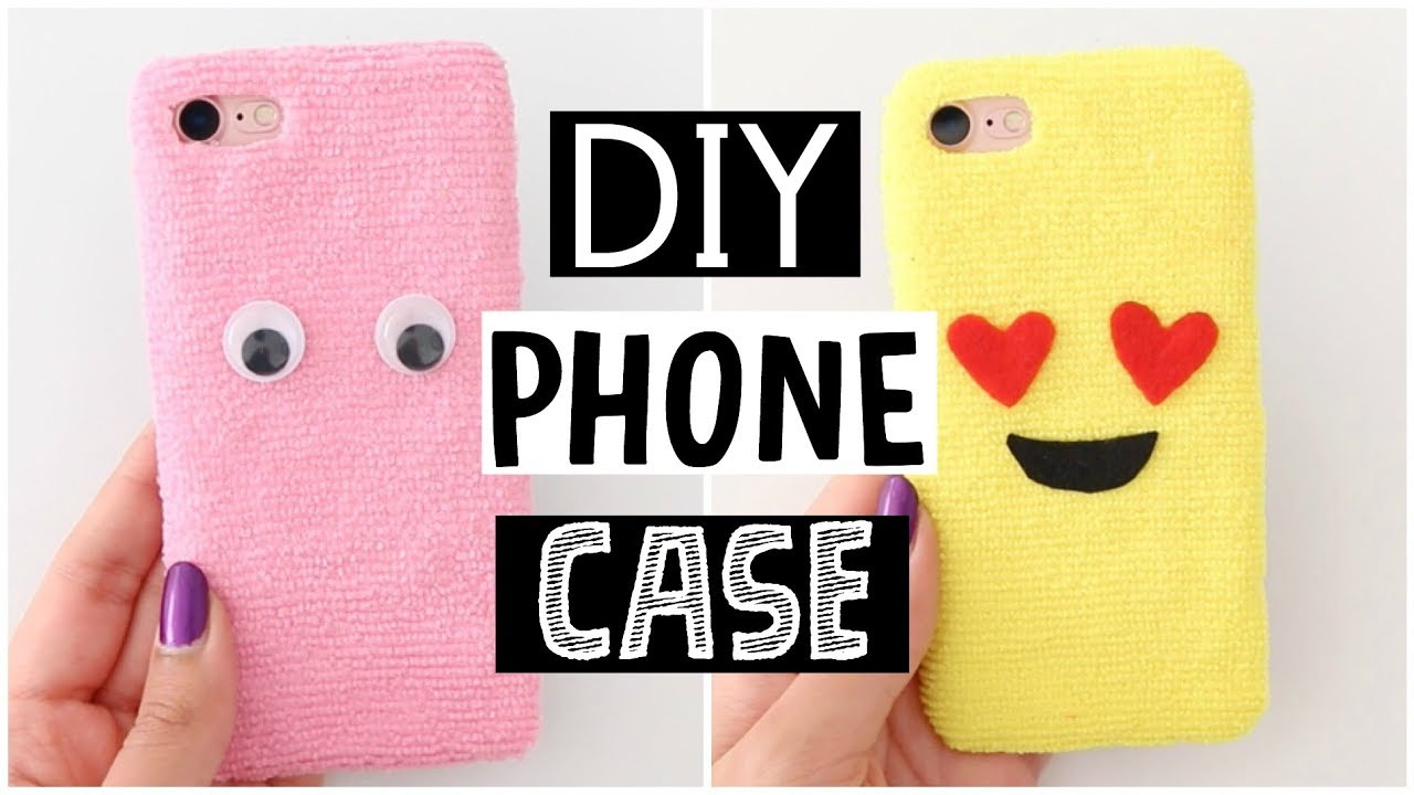 the latest b98ea e7466 DIY AMAZING FLUFFY PHONE CASES - Cutest Phone Case Ever!
