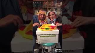Face Pie Duell für 2 Personen - Partyspiel TikTok Hit