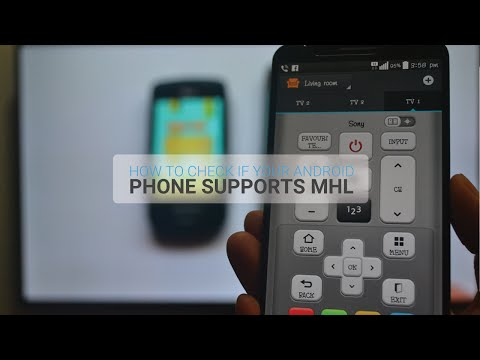 How To Check Android Phone If MHL Screen Mirroring Supported