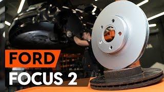 Se en videoguide om Reparationssats bromsok byta i FORD FOCUS II Saloon (DA_)
