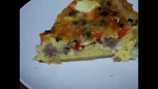 Quiche', Sasauge, Bacon, Fat, Butter, Crust Chef John The Ghetto Gourmet Show