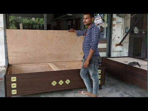 Latest Single Bed (Diwan)  6' x 3'    LATEST FURNITURE 2019 IN Delhi, Rohini