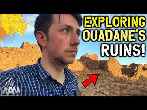 Exploring The Ancient Ruins Of Ouadane, Mauritania! - The Greatest Place You've NEVER Been!