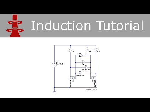 Induction Heater Tutorial: Part 1 - Circuit Simulation