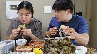 Ghẹ ngâm tương Hàn Quốc  khổng lồ ngon ngất ngây