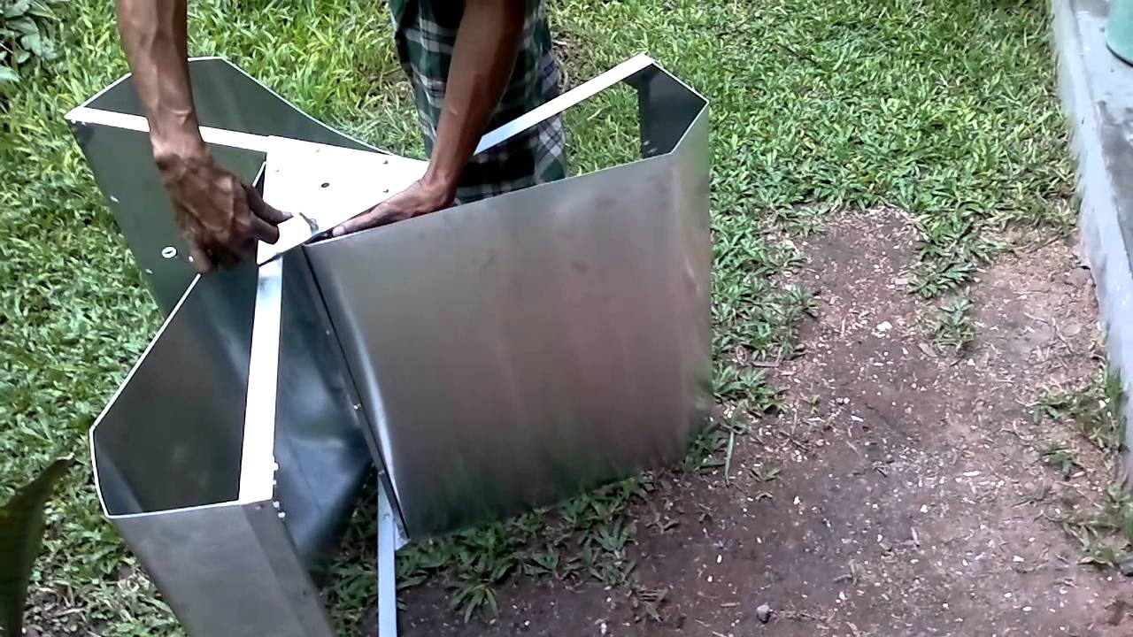 homemade: blades for Vertical Axis Wind Turbine 2014