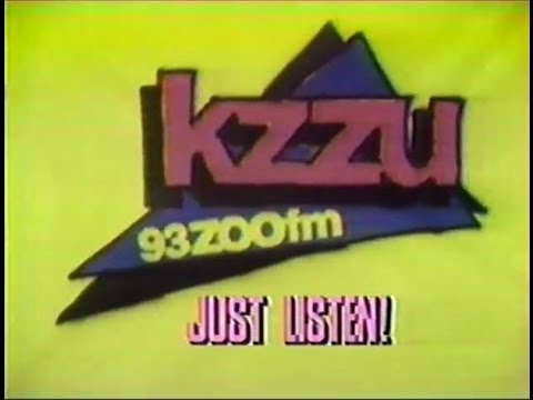 KZZU FM Ad from 1992