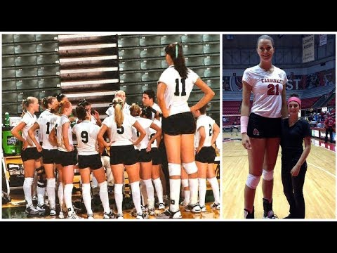 The Tallest Volleyball Players In The World (HD)