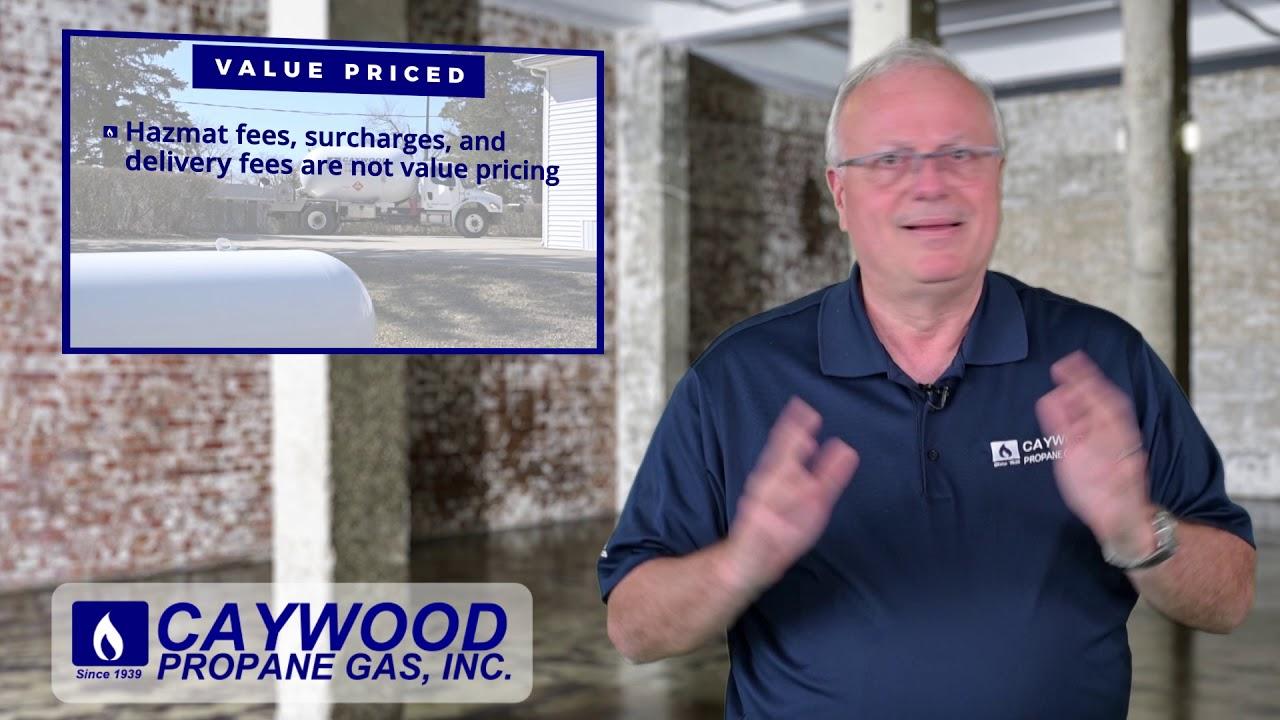 Price History – Caywood Propane Gas, Inc