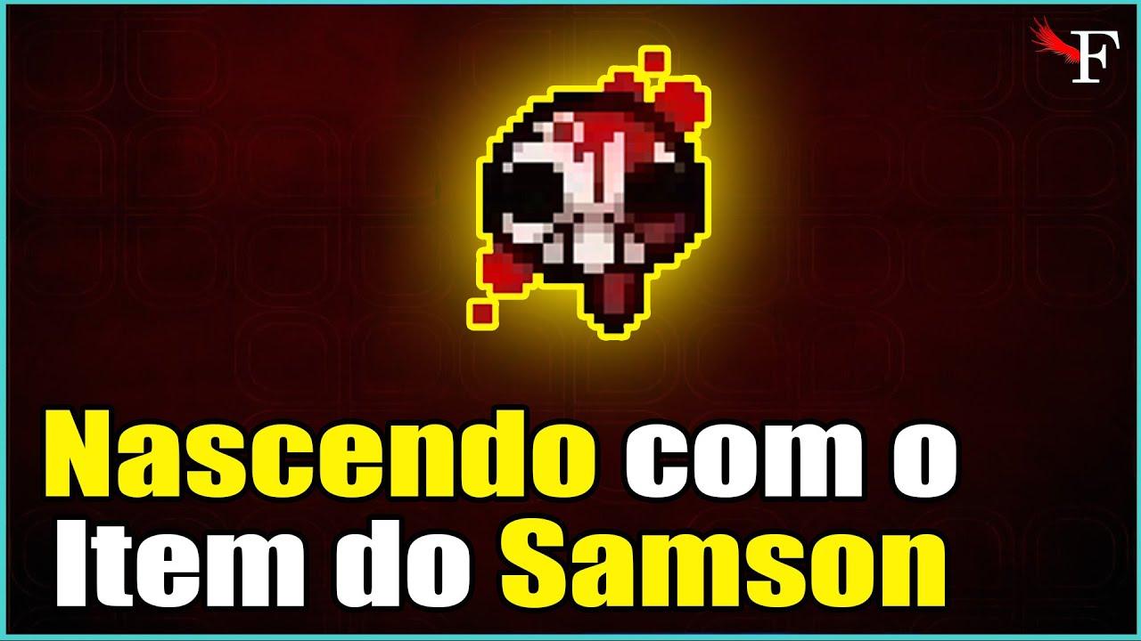 Download NASCENDO COM A FURIA DO SAMSON - THE BINDING OF ISAAC REPENTANCE - #346 PTBR