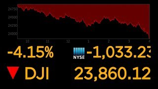 Dow Jones closes down over 1,000 points | ABC Radio Coverage
