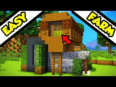 minecraft modern house tutorial | Nikkies Tutorials