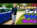 Pokemon Card TRICK SHOTS Opening!