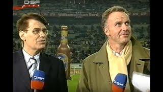 2005 Arena Eröffnung | Fortuna Düsseldorf - Bayern München | Interv. Rummenigge, Ballack, Weidemann