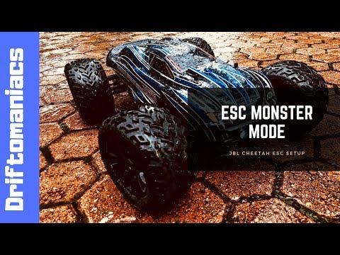 How To Program JLB Cheetah ESC Into Monster Mode! - YouTube
