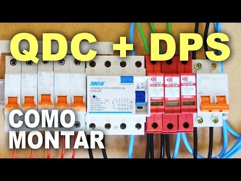 Montagem de QDC com DPS e IDR