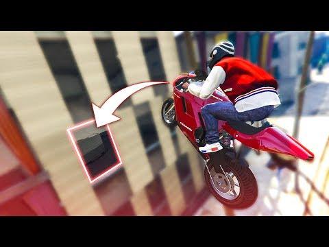 TRICKY MOTORBIKE STUNTS! - (GTA 5 Stunts & Fails)