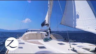 Sailing a Catamaran - our Transition begins! Catamaran vs Monohull [Zatara Ep 48]