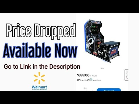 Arcade1up Star Wars sit down available now with Price Drop from Jester Tester