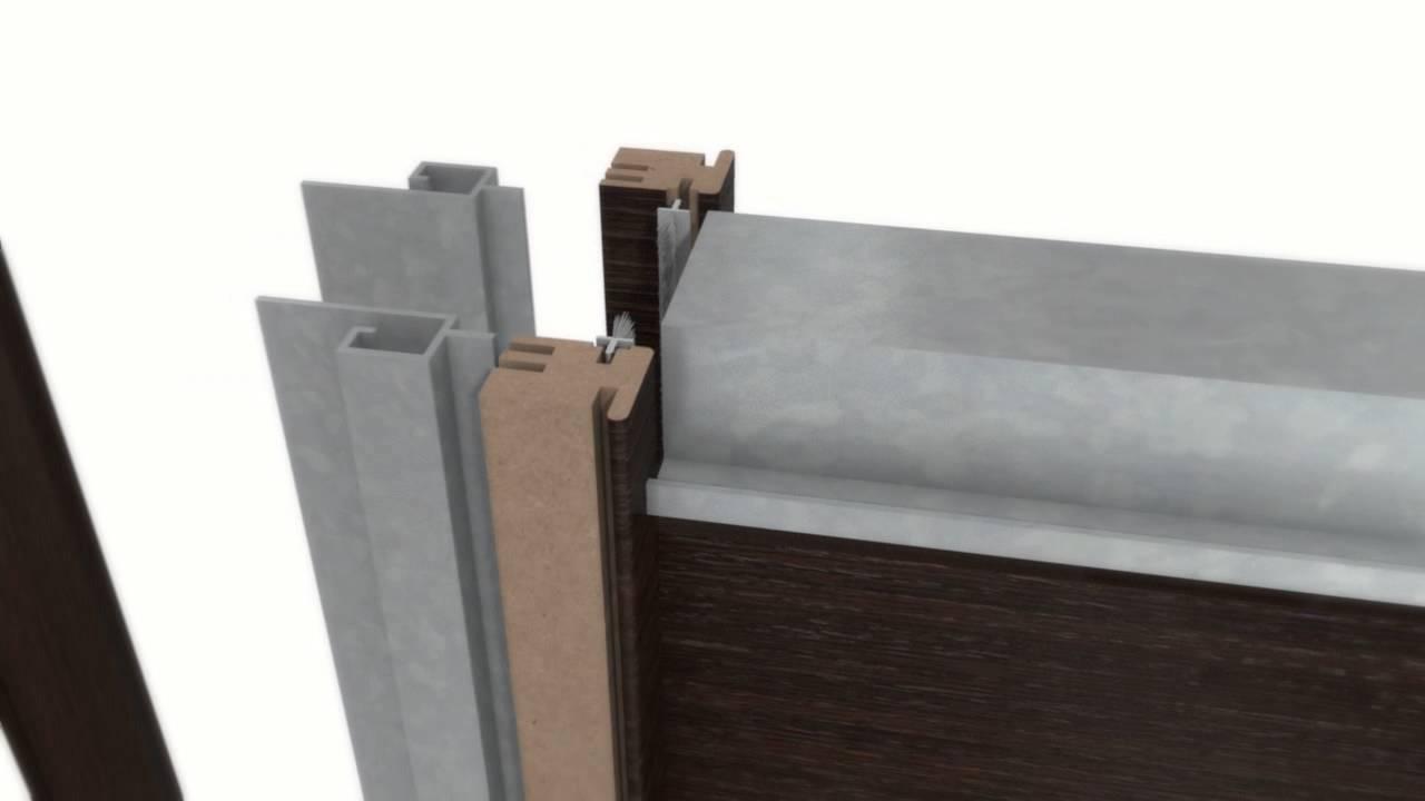 Casa immobiliare accessori montaggio porta scorrevole - Montaggio controtelaio porta ...
