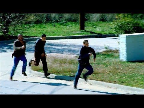 Келлерман, Майкл и Линкольн убегают от ФБР. Побег