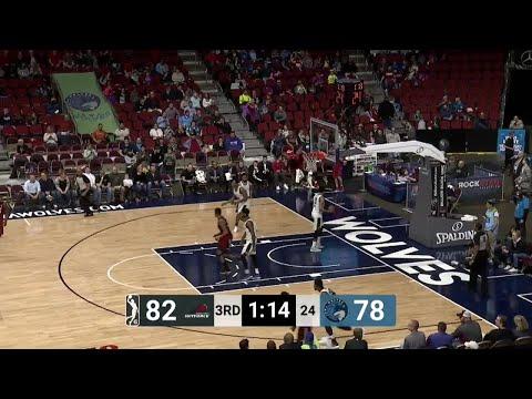 Derrick Jones Jr. Posts 21 points & 17 rebounds vs. Iowa Wolves