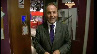 Last broadcast from old Bid TV studio with Peter Simon