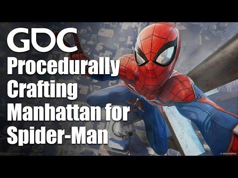 Procedurally Crafting Manhattan for Marvel's Spider-Man