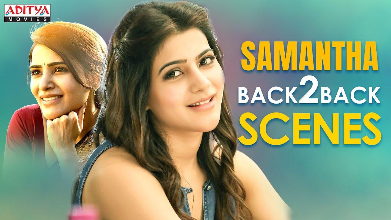 Samantha Super Hit Back to Back Scenes| Latest Hindi Dubbed Movies 2021|Majili | A Aa