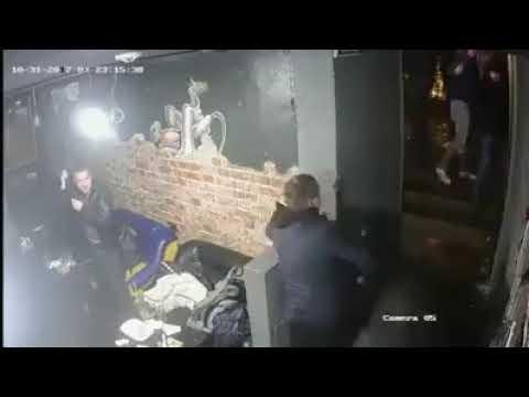 Hooligans Shakhtar Donetsk vs Feyenoord Rotterdam | attack destroy pub | Шахтёр - Роттердам