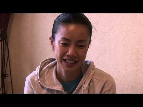 映画「ばななとグローブとジンベエザメ」インタビュー&メイキング映像 渡辺真起子編です。