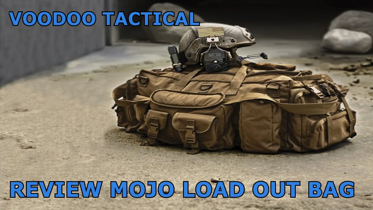Review Voodoo Tactical Mojo Load Out Bag Dutch