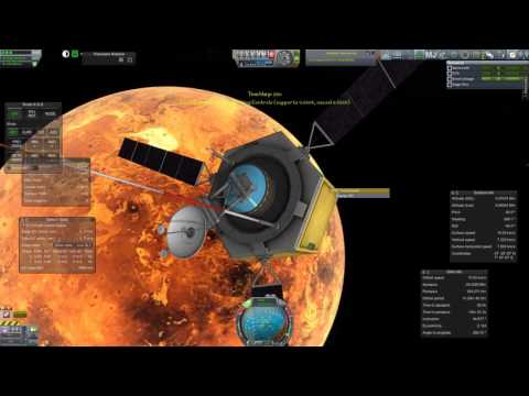 Kerbal Spaceships Are Serious Business - Episode 26 - Venusian Orbit