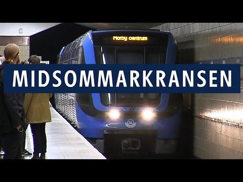 Midsommarkransen station Tunnelbanan i Stockholm