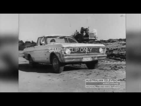 FORD FALCON UTILITY (Classic TV Commercial, Australia)