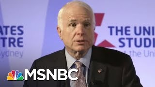 Lindsey Graham On John McCain: Cancer Has Never Had A More Worthy Opponent | The 11th Hour | MSNBC