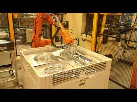 APEX Automation and Robotics - Press Tending Robot