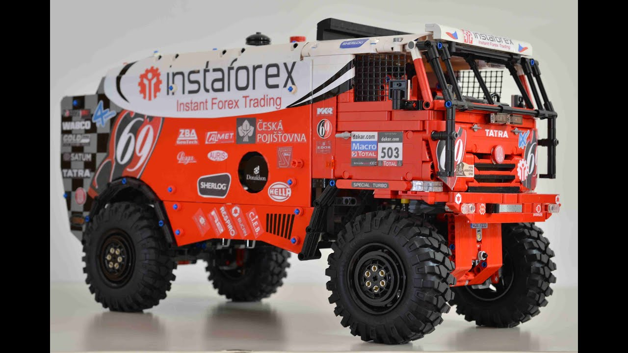 Lego Technic MOC Tatra Dakar Loprais - YouTube