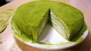 Lady M Matcha mille crepe cake