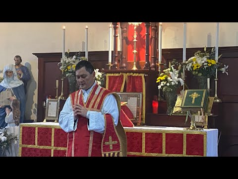 Traditional Latin Mass Sunday 26th July 2020 at St Anne's - Feast of St Anne, Mother of the B.V.M. from YouTube · Duration:  56 minutes 58 seconds