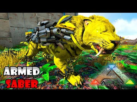 FIZEMOS UM SABERTOOTH COM CANHÃO?!! - ARK SURVIVAL EVOLVED: FOREWORLD MYTH T2 #18 ◄BaconsExtreme► thumbnail