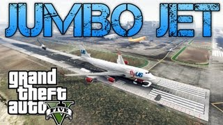 Grand Theft Auto V Challenges | JUMBO JET & KILLING SPREE | PS3 HD Gameplay