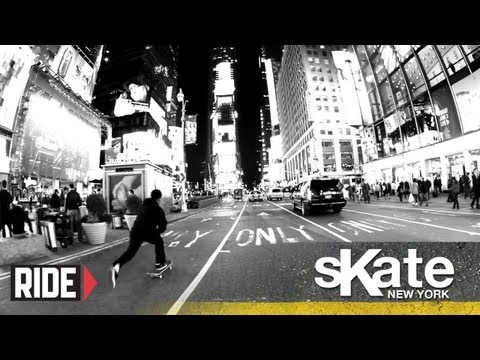 SKATE NYC with Jahmal Williams and The Hopps Crew