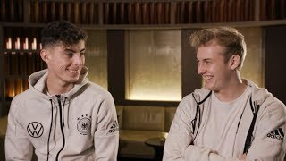 Interview mit Julian Brandt und Kai Havertz