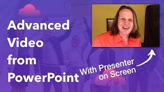 Record Video and PowerPoint at the Same Time